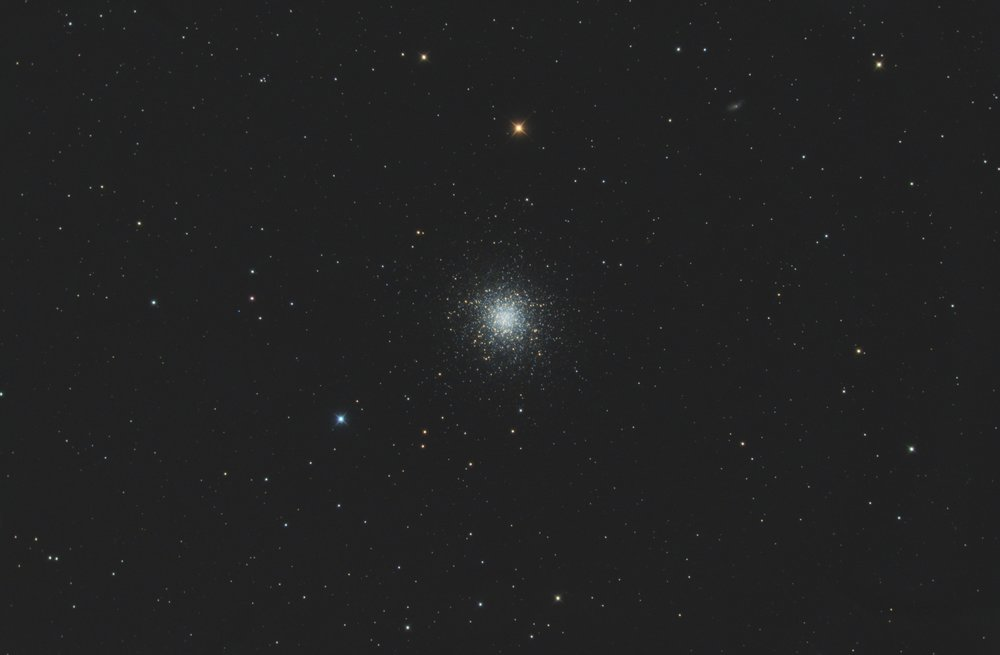"M13 globular cluster imaged with the AT6RC, 6"" Ritchey Chretien telescope."