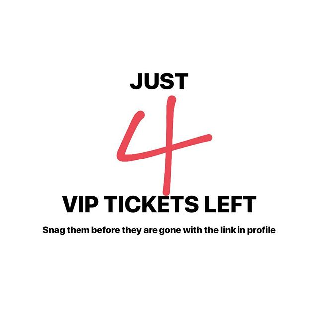 We have just 4 VIP shopping tickets left for our January 26 sale with over 40 sellers.  Snag your VIP ticket now. Miss out on the VIP tickets? No problem, general $5 unlimited admission at the door begins at 11:00.  All details can be found at the link in our bio! You DON'T want to miss it!