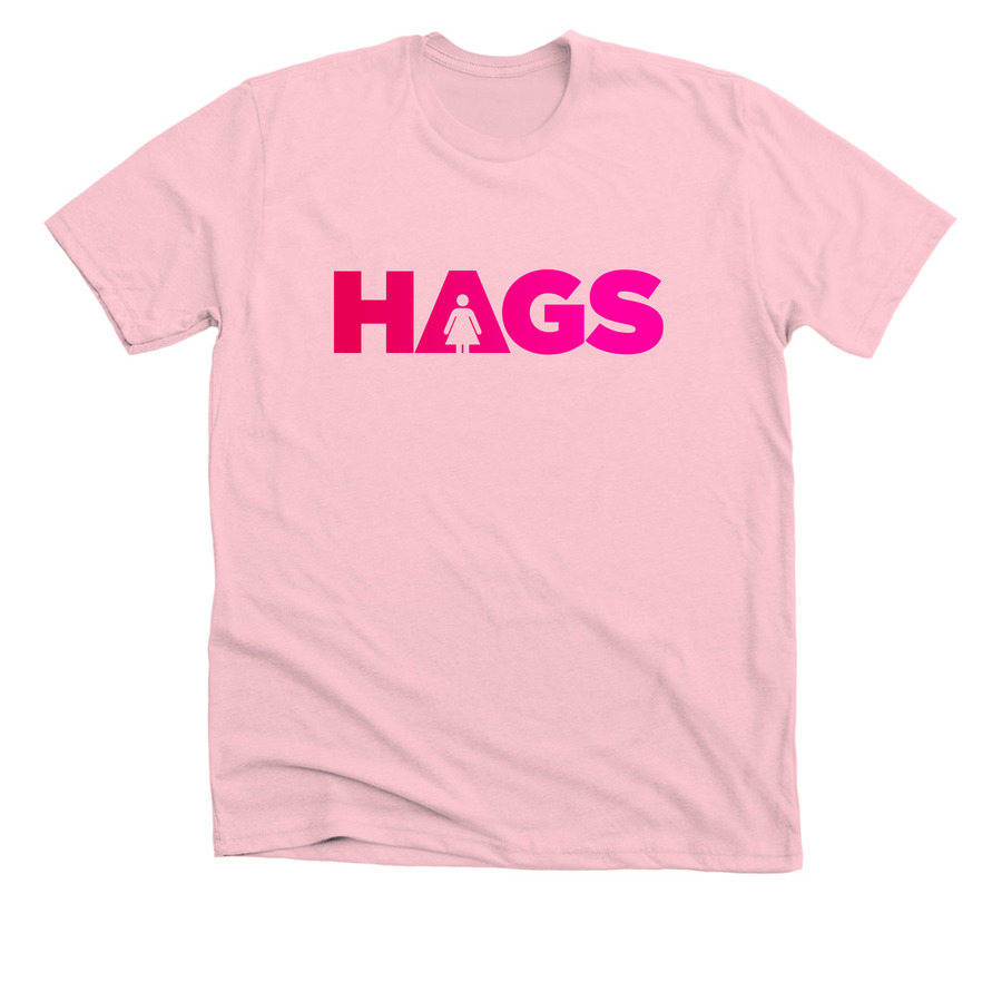 HAGS - Unisex & Slim-Fit Tee - Limited edition. Available in multiple colors and sizes!