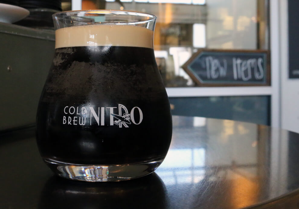 NITRO COLD BREW IS BACK - (Only at the Cafe Location)