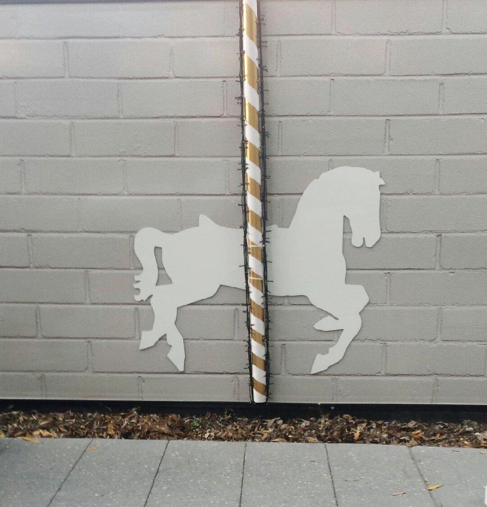 CAROUSEL HORSES -