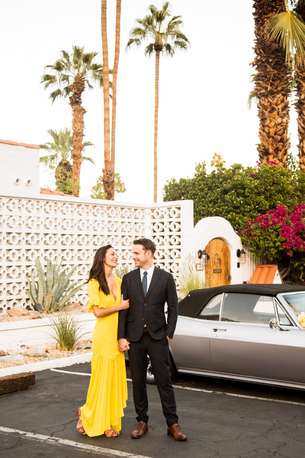 Palm Springs engagement shoot