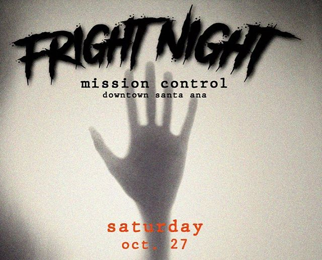 The spookiest night of your life. 👻@arcademissioncontrol Dress to impress - costumes are highly recommended - cash prizes - cocktail specials - a night of fright. 👏🏼👾👽☠️ You don't want to miss out. 🎃🎉 #HappyHalloween #mcfaddenpublicmarket #dtsantaana #dtsa #halloweenparty #frightnight
