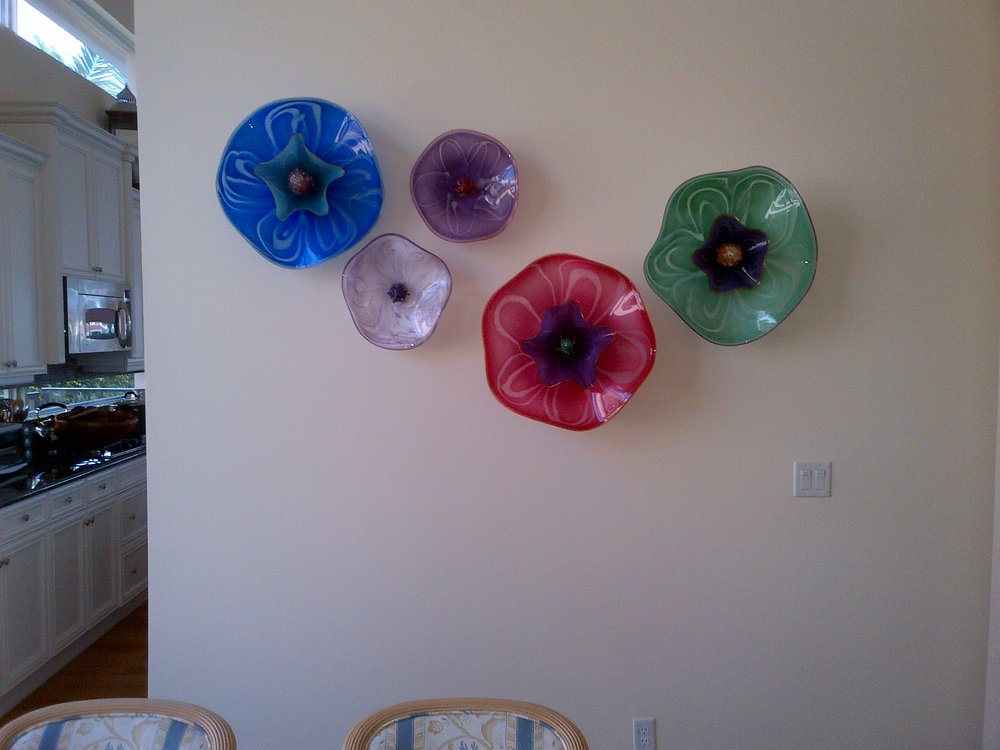 glass wall plates