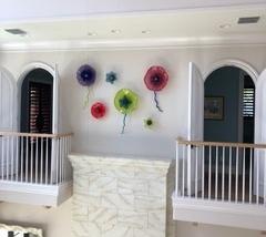 Interior Glass Flowers