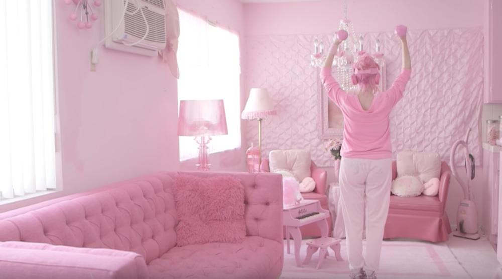 Pink Lady of Hollywood — Alex Van Brande
