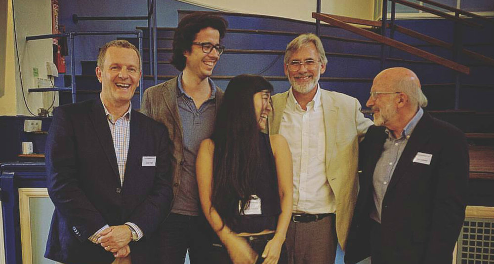 At Oxford University with the founders of Mindfulness Based Cognitive Therapy (MBCT)