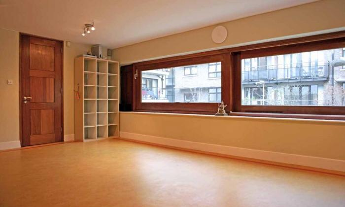 Samadhi top floor studio will be our safe space for practice.
