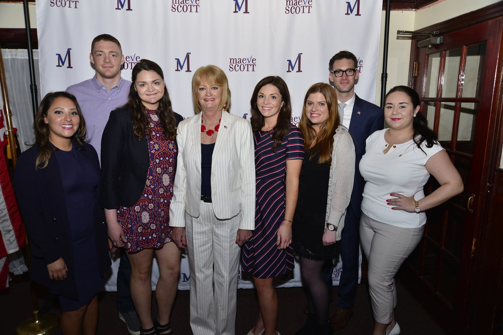 Maeve Scott Campaign Kickoff Team Photo