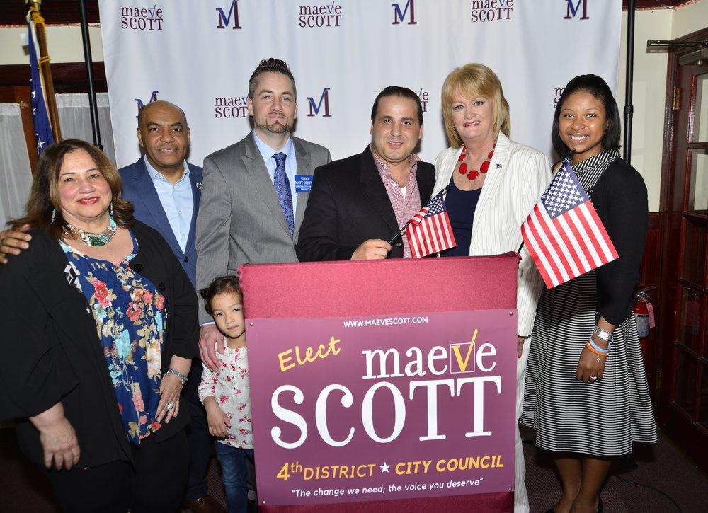 Maeve Scott Campaign Kickoff