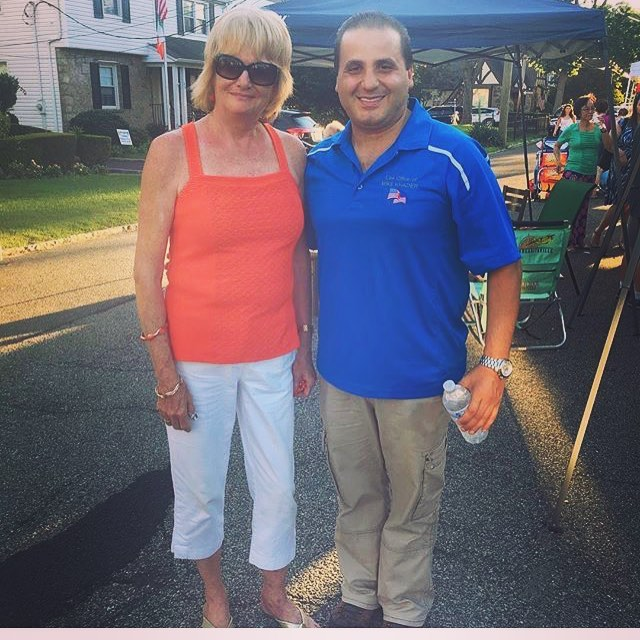 Having a blast at the Beverly Crest Block Party! #yonkersny #yonkers #citycouncil #council #westchester #district4 #vote #democrat #democraticparty #maeve4the4th @mikekhader2017