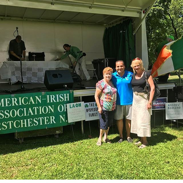 Had a great time at the Irish Heritage Festival this past weekend! Proud to be a first generation Irish American! 🇺🇸🇮🇪 @mikekhader2017