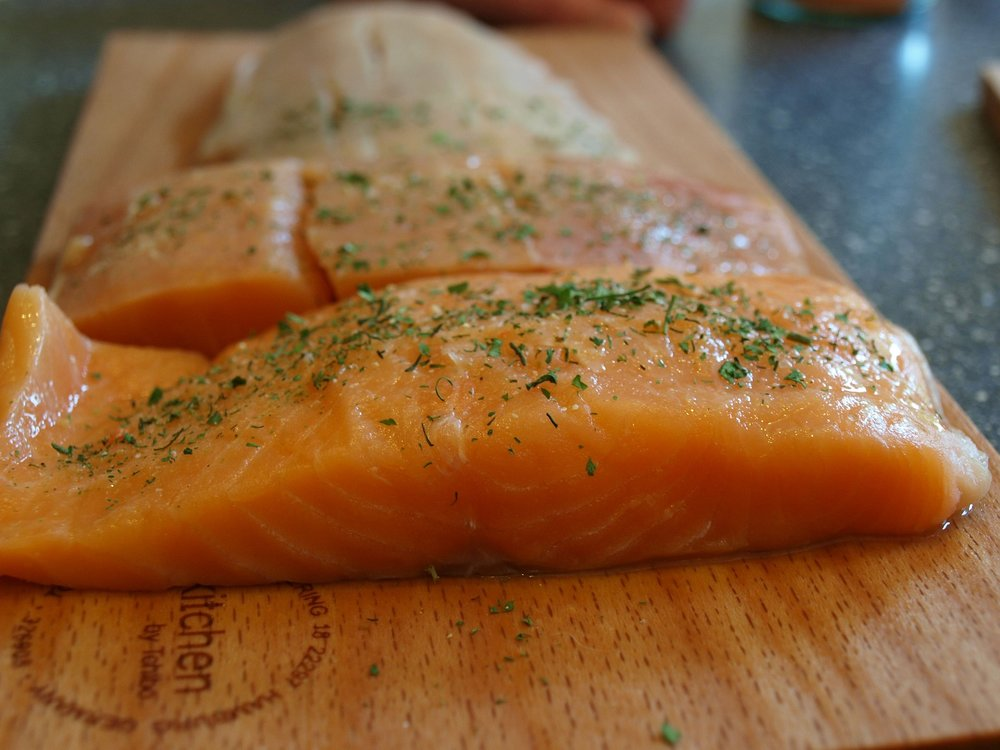 Let's Make Salmon and Asparagus for Dinner  -