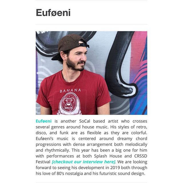 Big ups to @dailybeatmedia for the mention and @daniellemariedallas for the write up. This year has been filled with festivals and babies!  To read full article, link in bio