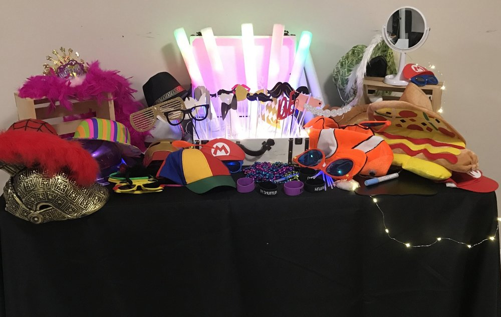 Props, Glasses, Hats & More - MAD PROPS INCLUDED IN EVERY RENTAL
