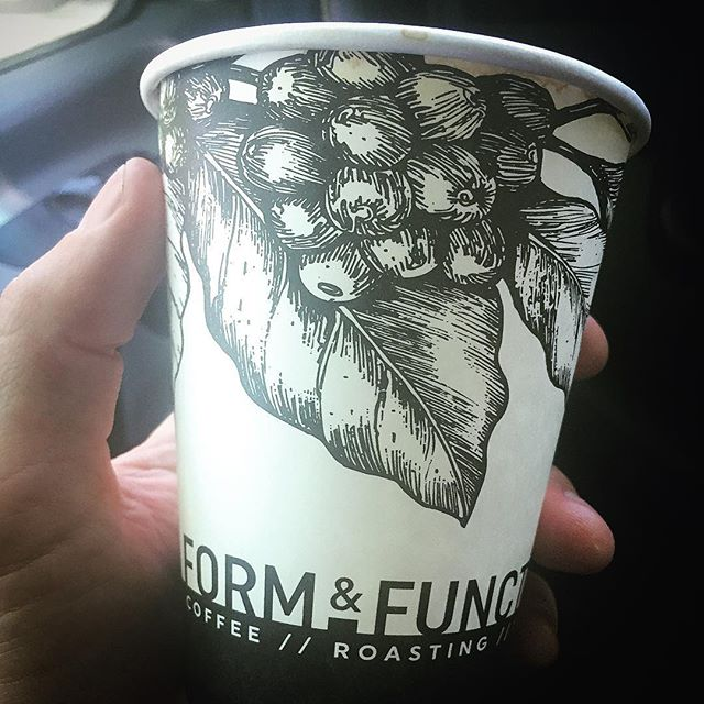 Wow. Just had an amazing pour over from @formandfuntioncoffee so excited for them to open up their shop! That's some amazing coffee ☕️ right there 👏🏻👏🏻 #formandfunctioncoffee #thisisboise #smooth