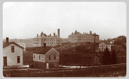 Univ of Michigan Hospitals c.1890
