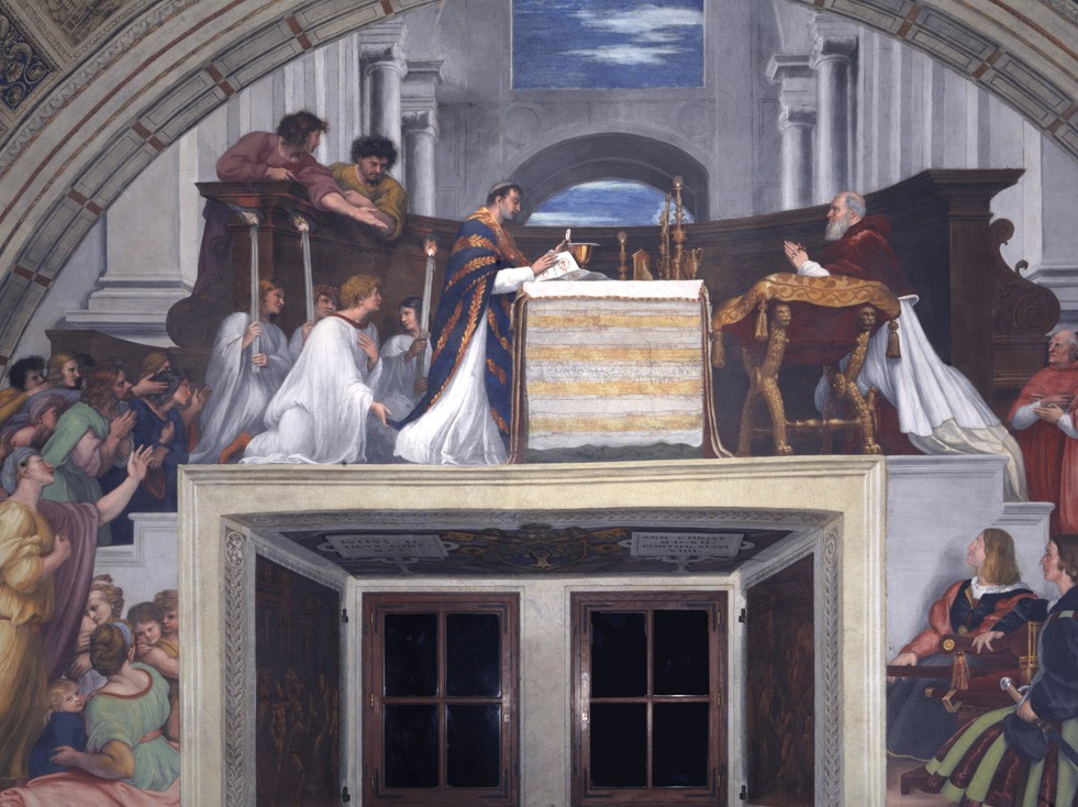 Mass at Bolena—Raphael
