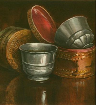 Antimony Cups