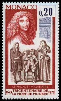 Monoco Commemorative Stamp