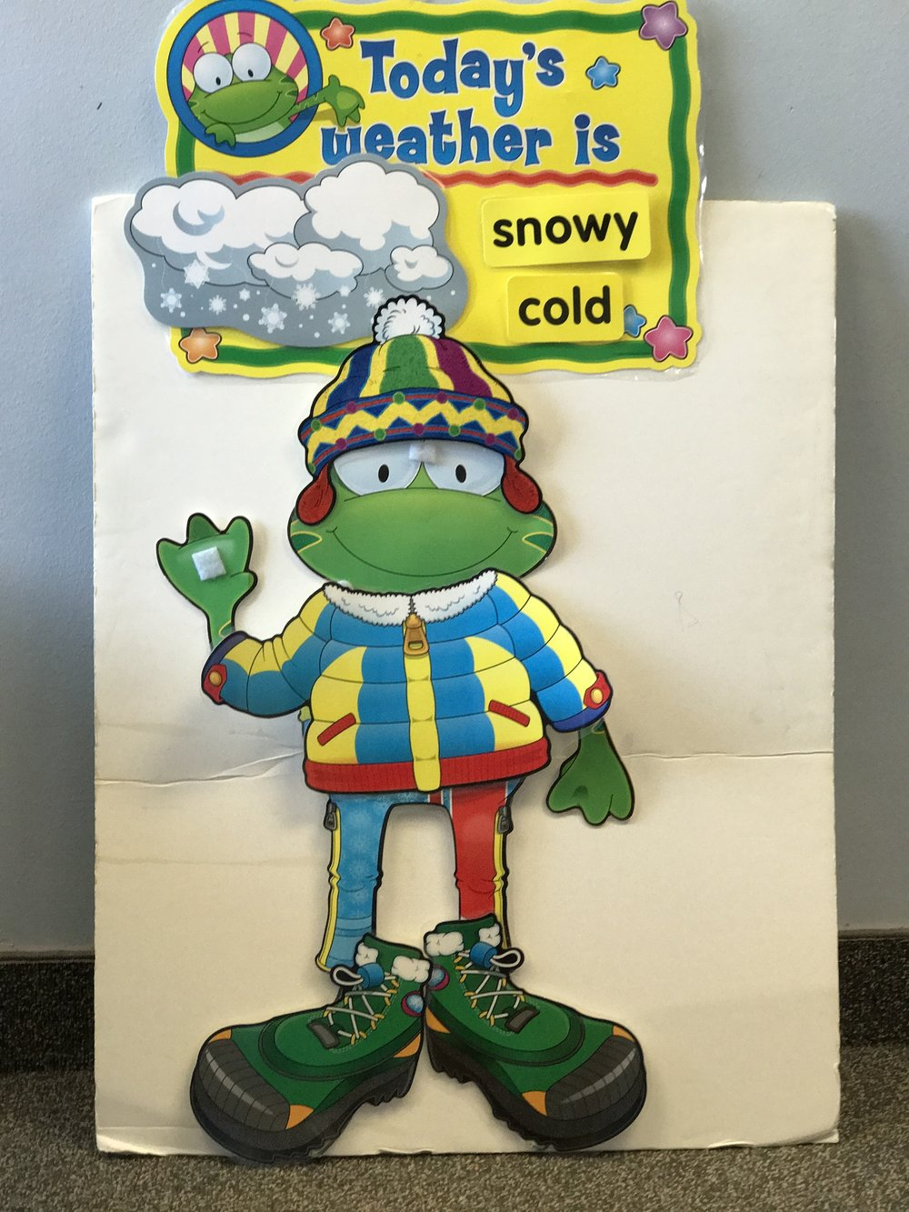 Weather Frog Snowy and Cold.JPG