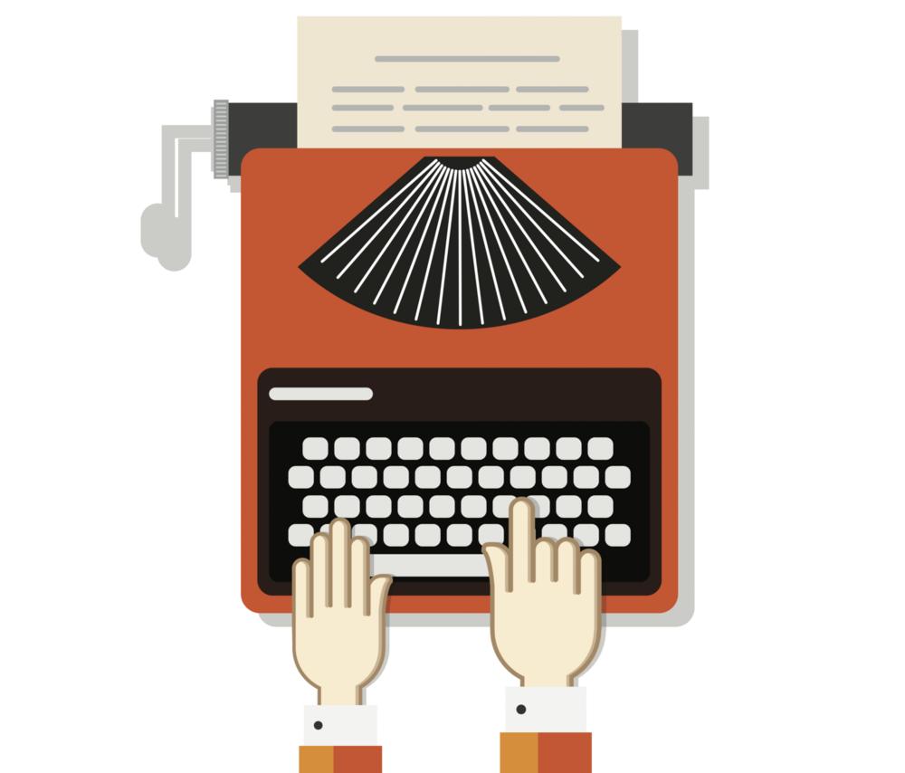 typewriter-machine-vectorportal.png