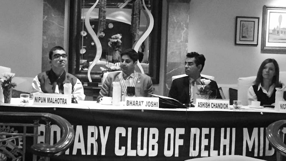 Bharat Joshi's Rotary Club