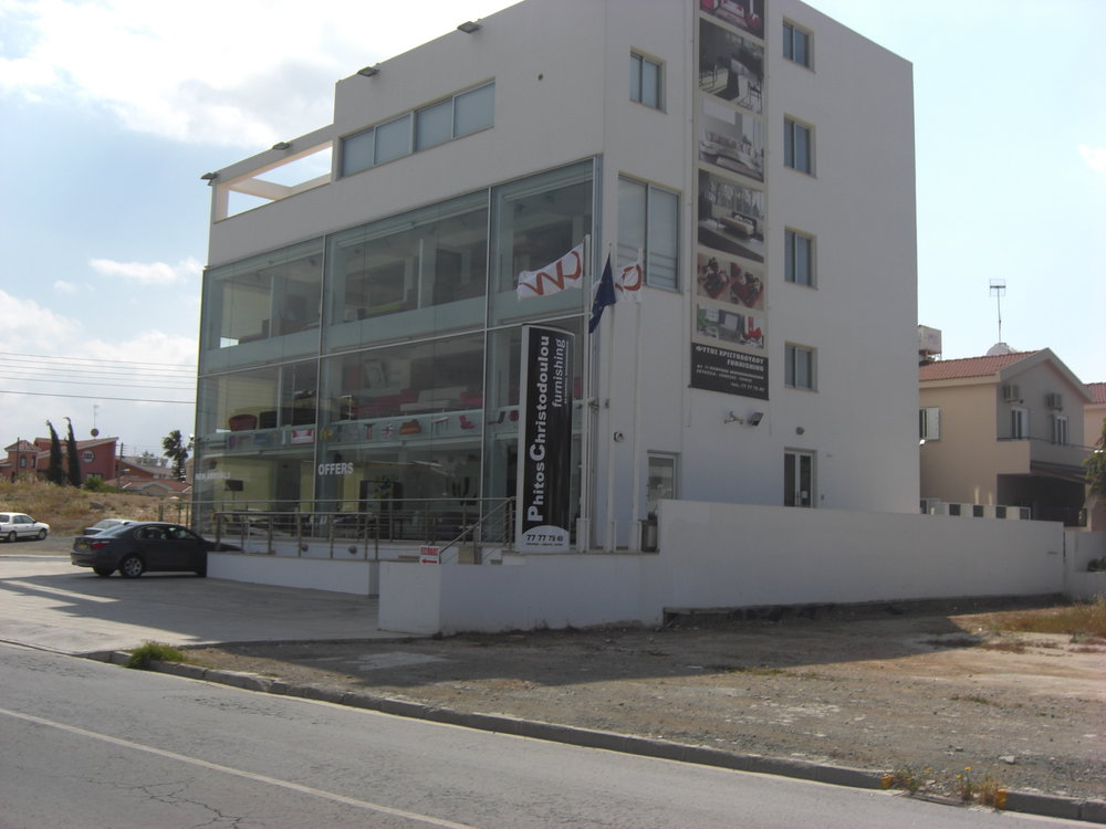 Egkomi,nicosia - GORGEOUS GLASS-FACED SHOWROOM€1.700.000Call Phitos at +35799624901