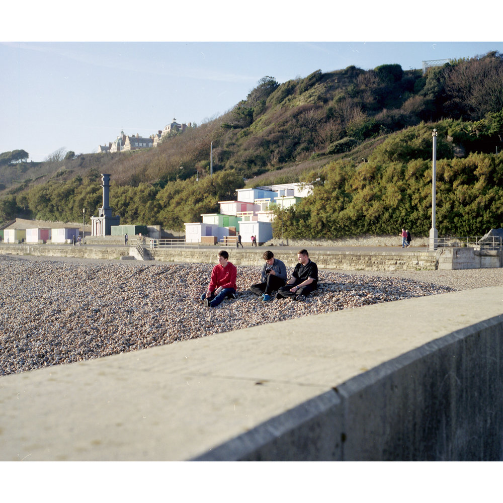 Beach Brotherhood, 2018 c-print, 5+1 AP 20 X 20 inches © Lee Brodhurst-Hooper