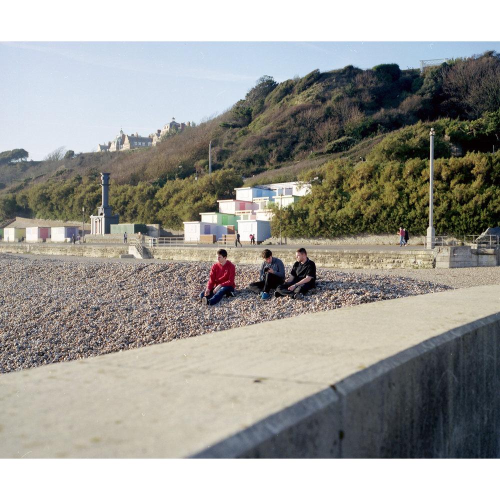 Beach Brotherhood, 2018 c-print, 5+1 AP 20 X 20 inches © Lee Brodhurst-Hooper