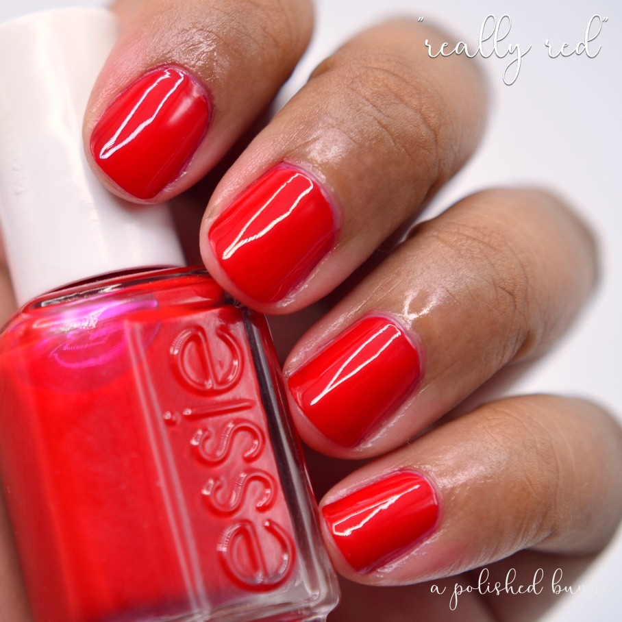 Classic Pinup Red — a polished bunni
