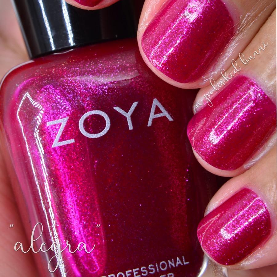 Newest Zoya Additions — a polished bunni