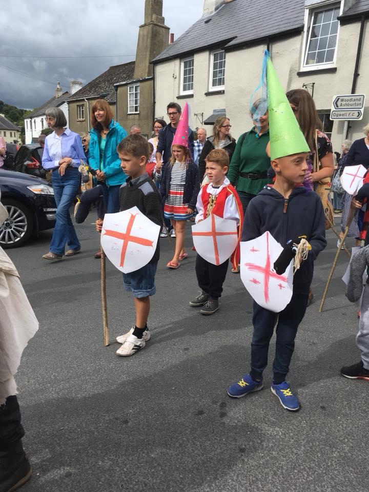 Knights crowd procession.jpg