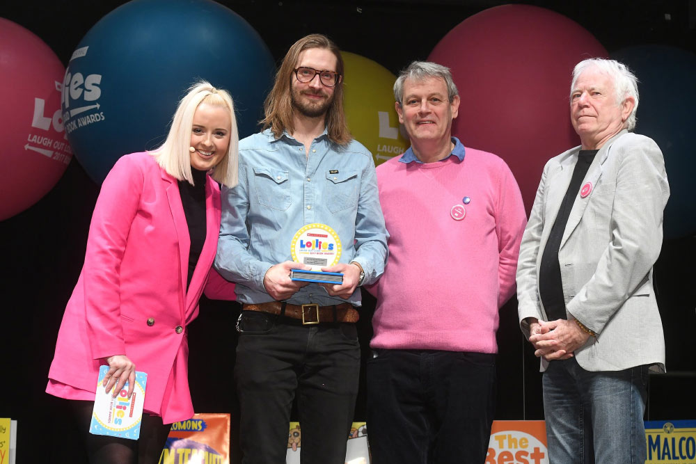 CBeebies Presenter and Lollies Host - Katie Thistleton, Hairy Me, Axel Scheffler and Tony Ross.