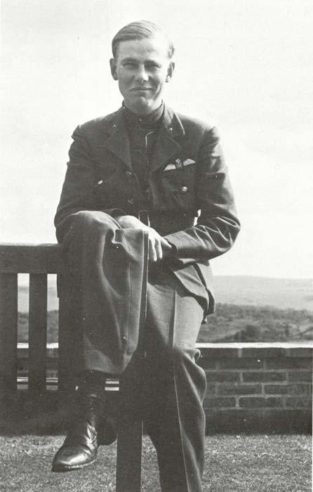 Richard Demetriadi, Flying Officer RAF