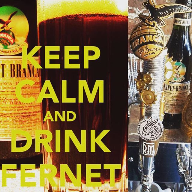Check out the Handle @rustedmule thanks @fernetbranca for the custom work.. Start your weekend off right. #sfbartenders #sfbars #cocktailsanddreams #fernetaboutit #rustedmulesf #sfcocktails #fernet #drinkup #howyoulikemenow #wedrinkfernet