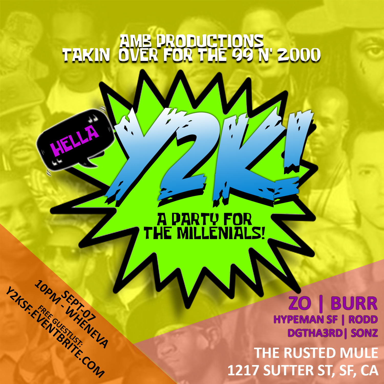 Upcoming events y2k fridays a party for the millennials malvernweather Images