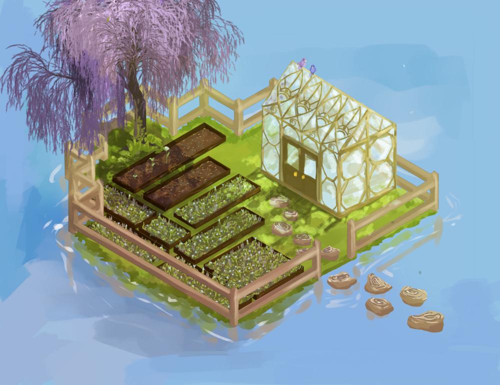 Your first Garden!