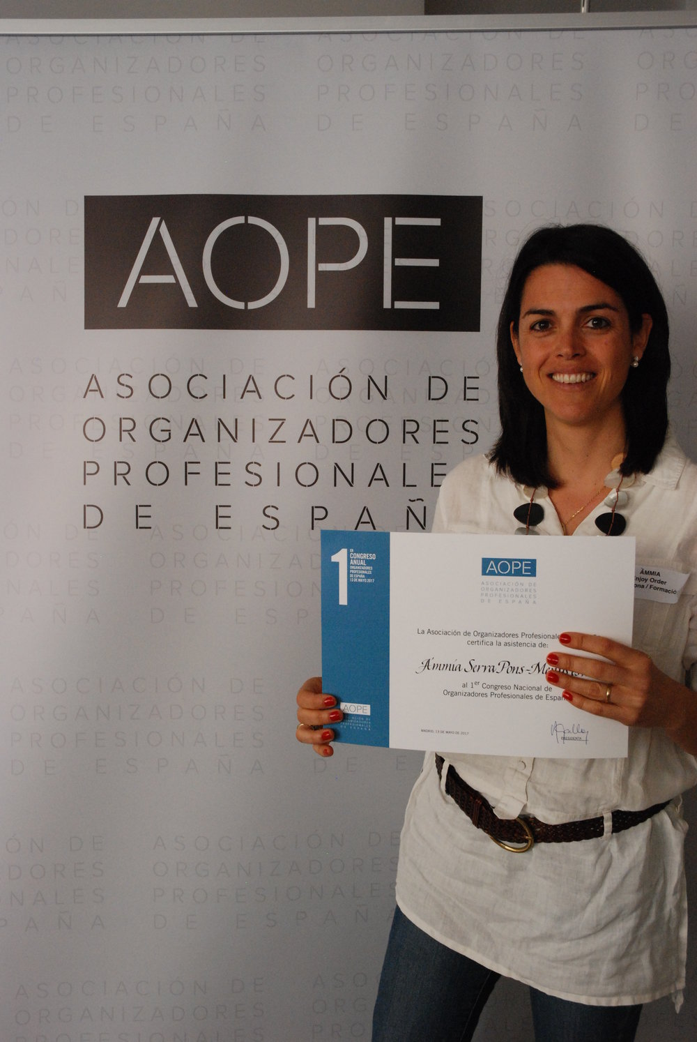 1er congreso AOPE Madrid 2017