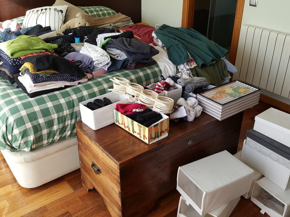 Selección de prendas