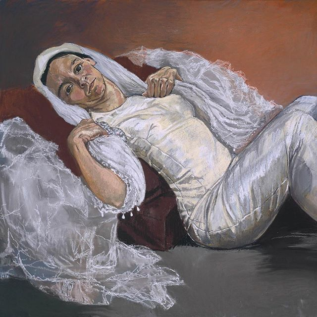 💫✨ 'Paula Rego: Reflected Visions' by contributer Katie Campbell now live on Sirens✨💫 We can't wait to see her work in the forthcoming 'All too Human' show at the Tate Britain. It's a glorious read, link to website in bio ☝️thanks Katie! @klhc28 . . . . #paularego #sirens #writing #femalewriter #femaleartist #contemporaryart #painting #figurativeart #tatebritain #tate #alltoohuman #freud #bacon #saville #20thcentury #human #feminism #feministart