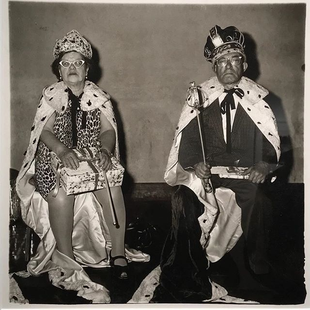 One of the wonderful prints in the set by Diane Arbus coming up for sale @christiesinc NYC this week, printed by the artist 👑. . . . #nyc #dianearbus #photography #auction #christies #vintage #sales #aipad #aipad2018 #rare #collectable