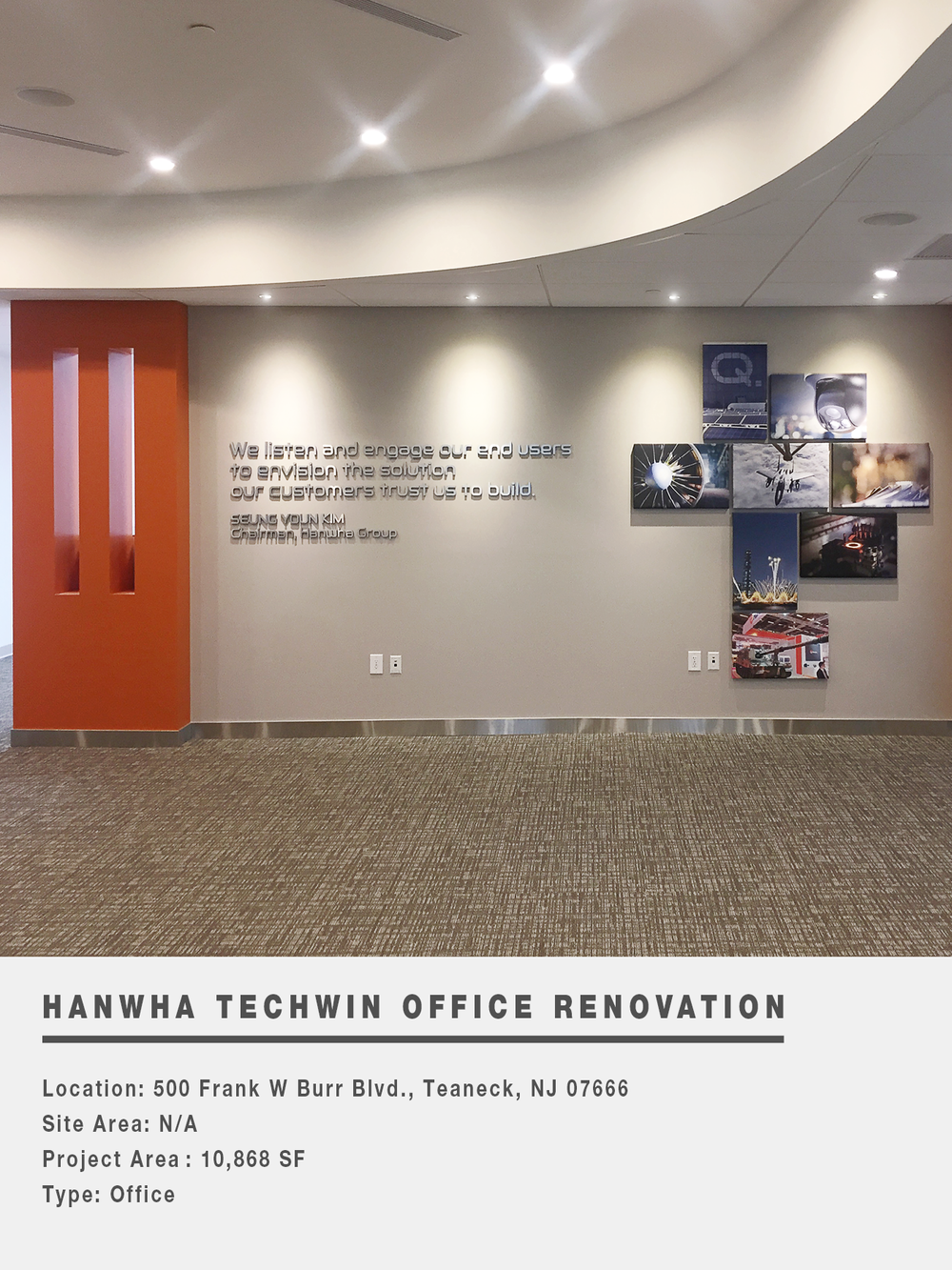 HANWHA TECHWIN OFFICE RENOVATION