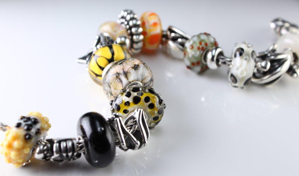 Reptile Inspired Charm Bead Set