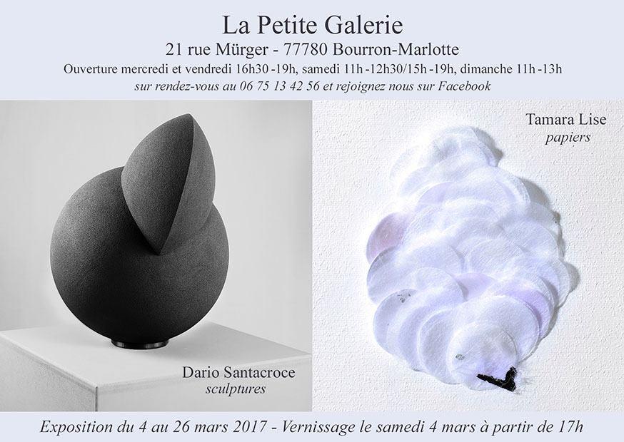 Exhibition at La Petite Galerie