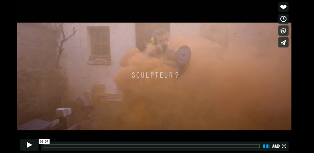 Sculpteur? a short film by HUGO CLOUZEAU