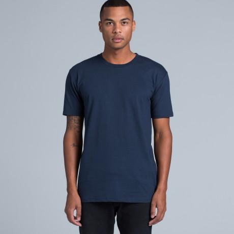man modelling as colour t shirt