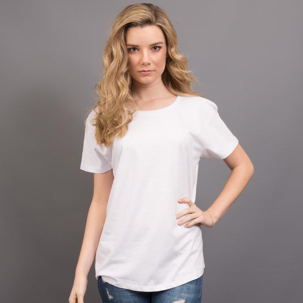 woman modelling sportage t shirt