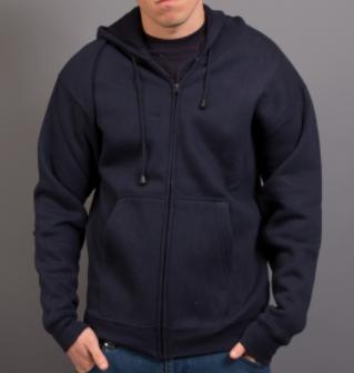 man wearing jarvis hoodie