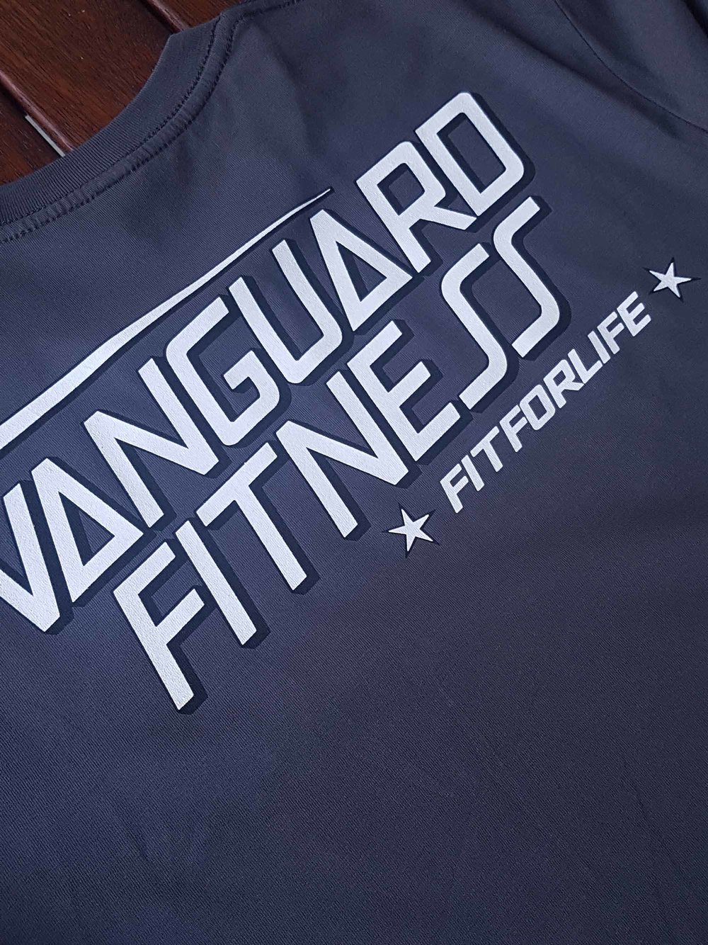 vanguard fitness backprint